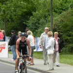 Triathlet Philipp Heinz nach 31 km Bike_28. Leipziger LVB Triathlon 2011