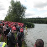 Nur noch 2 Minuten bis zum Schwimmstart_28. Leipziger LVB Triathlon 2011