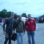 Triathlet Philipp Heinz, Coach Dominik Neiss_Erfurt Triathlon 2011