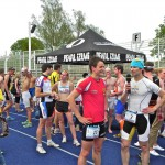 Triathlet Philipp Heinz im Interview mit Hubert Hammerl_24. Jenaer Duathlon am 29.04.12