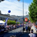 Die Finisherline in Wiesbaden_Ironman 70.3 European Championship 2012 in Wiesbaden